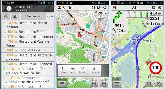 download maps for android