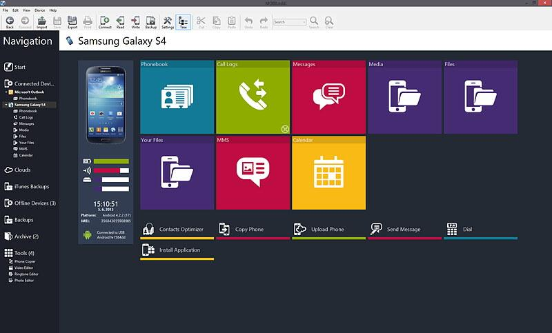 desktop manager android