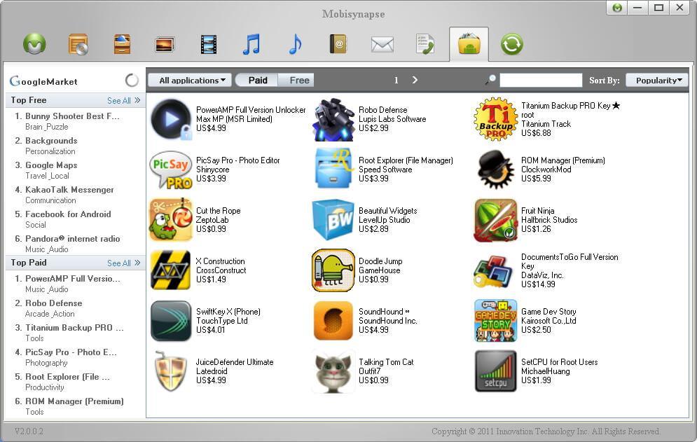 android desktop manager download