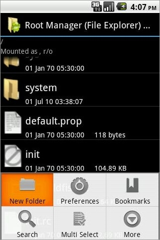 top root file manager for android
