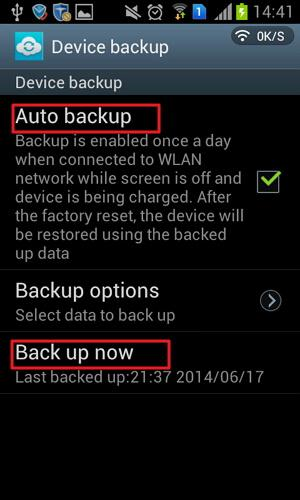 backup samsung contacts to gmail
