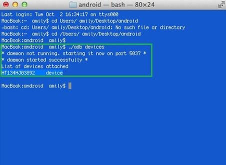 adb android mac