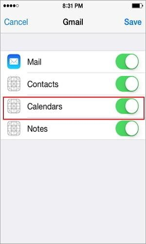 contacts from iphone to android