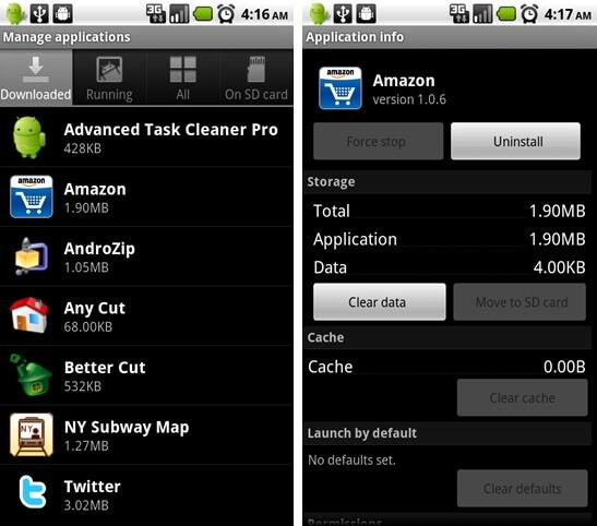 android storage manager apps