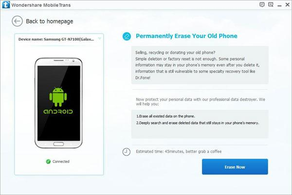 Erase everything from your iPhone