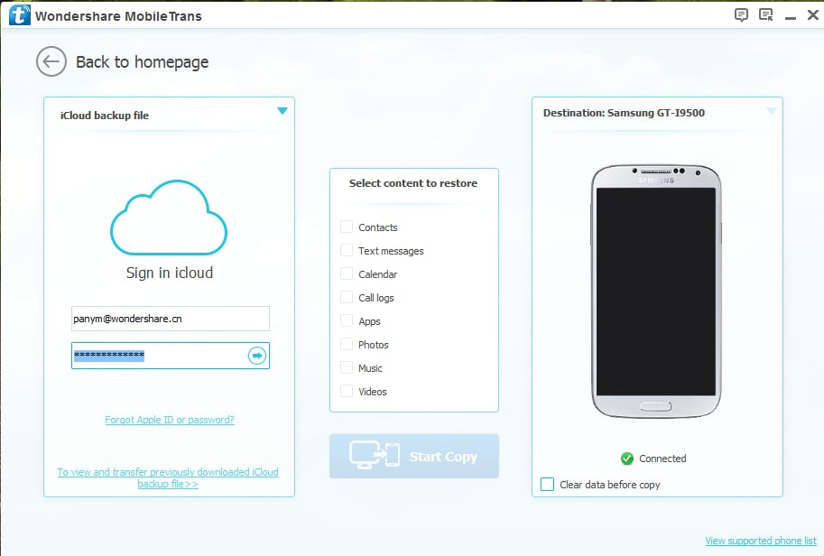 How to sync iCloud contacts with Google