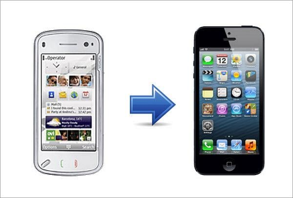contacts from symbian to iphone