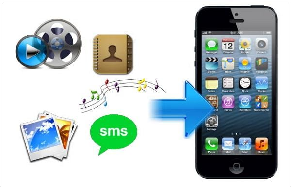 transfer contacts from symbian to iphone