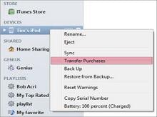 ipod to ipad contact transfer