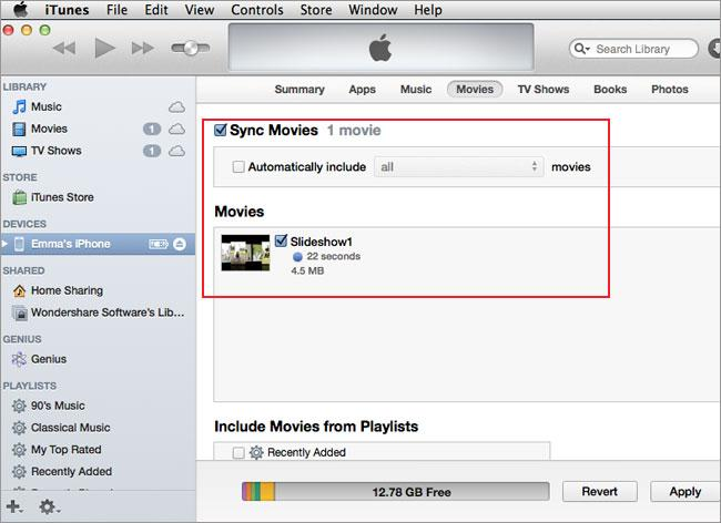 contacts from iPhone to Mac