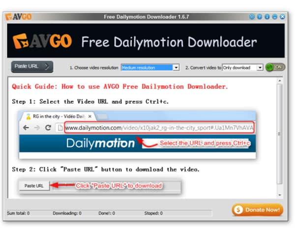 How to Download Dailymotion to MP4 with High Quality?