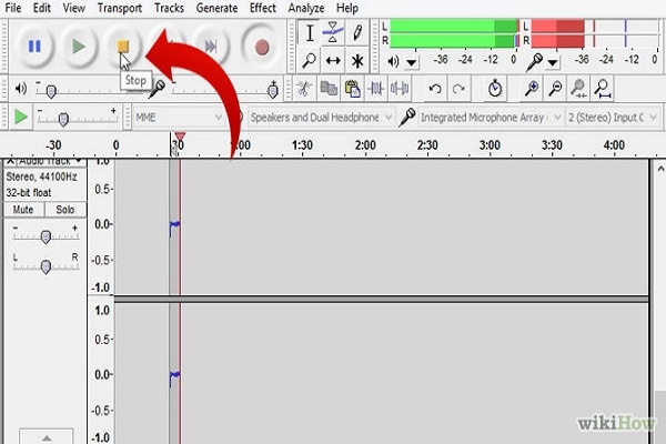 Audacity, Import and Export MP4
