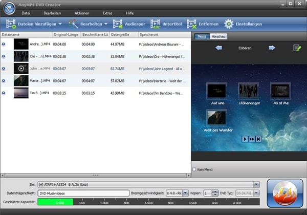 Top 15 MP4 to DVD Burner You Have to Know