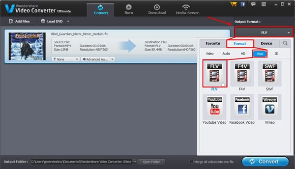 How to Convert MP4 to FLV with Zero Quality Loss