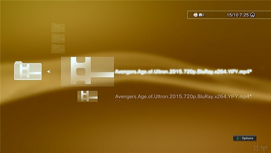 Does PS3 Play MP4? What's Wrong?