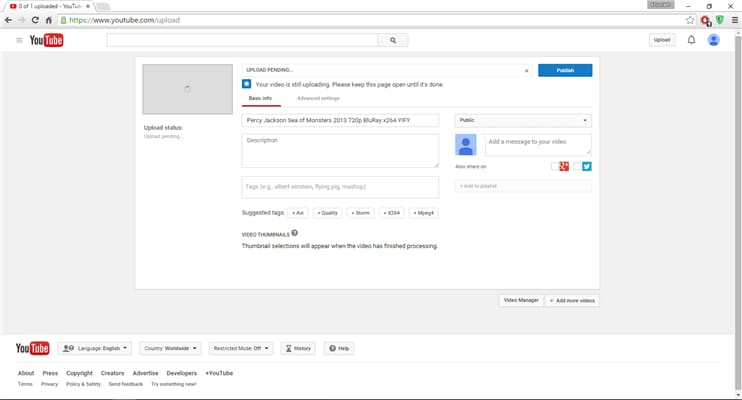 How to Upload MP4 to YouTube Freely