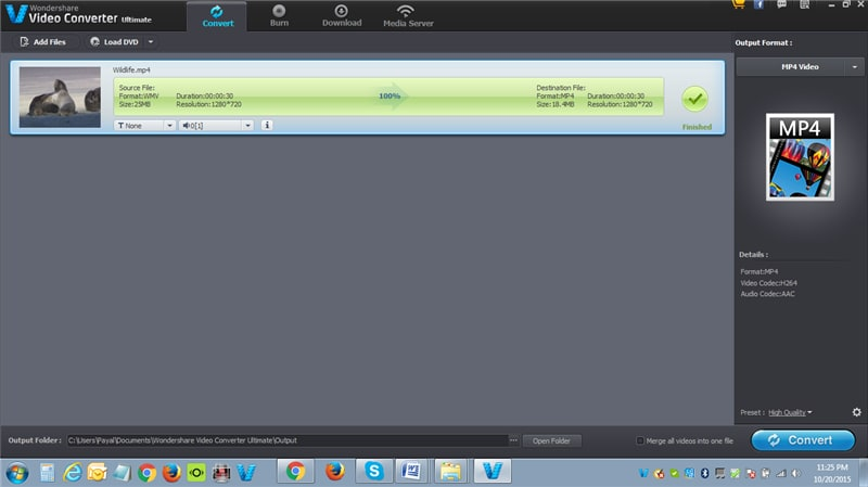 How to Convert WLMP to MP4