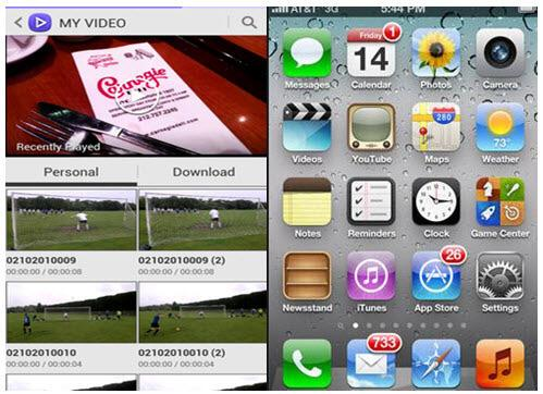 video apps for iphone