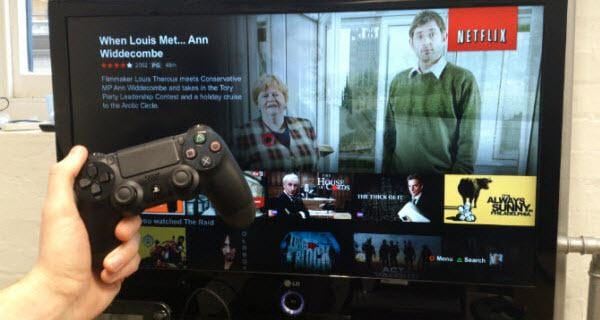 watch movie with game device