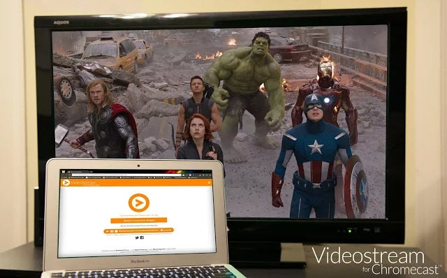 videostream chromecast