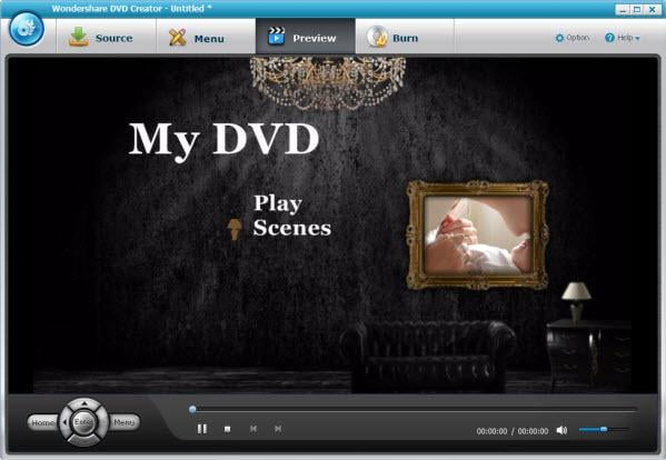 Wondershare DVD Creator Screenshot