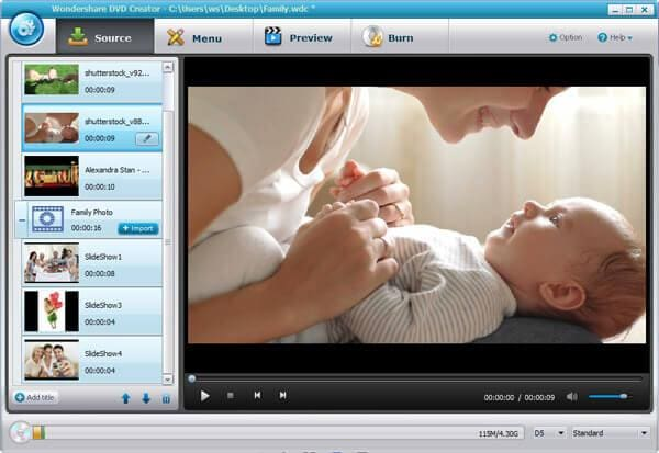 change mp4 to dvd