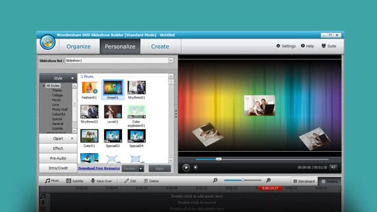 Wondershare DVD Slideshow Builder Deluxe feature image