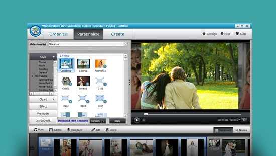 Wondershare DVD Slideshow Builder Standard feature image