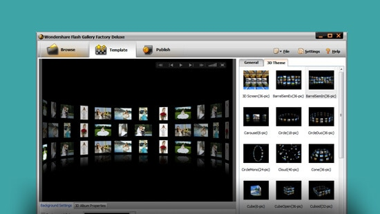 Wondershare Flash Gallery Factory Deluxe feature image