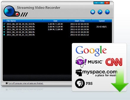 Streaming Video Recorder