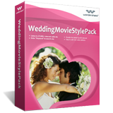 Wondershare Wedding Movie Style Pack