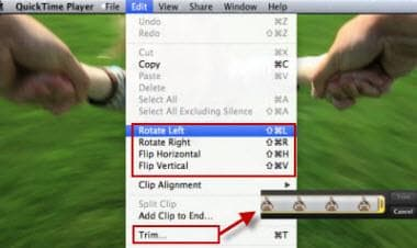edit QuickTime Video with quicktime X
