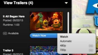 download quicktime trailer