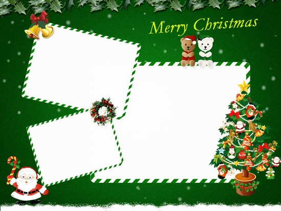 Free Photoshop Christmas Card Templates | HD Walls | Find Wallpapers
