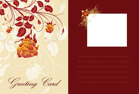 free photo greeting card templates