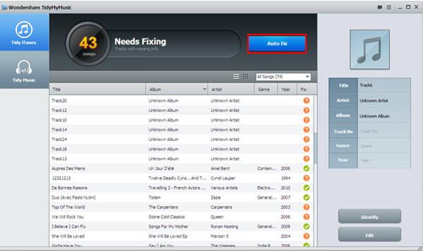 mac tidymymusic-scan music library