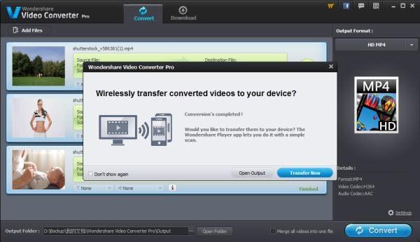 transfer video