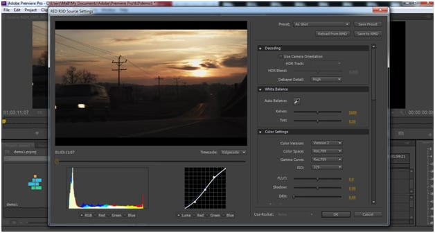 edit 4k in adobe premiere