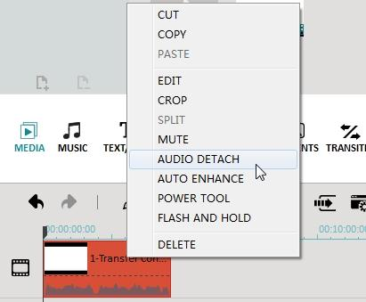 remove audio track from mp4