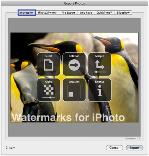 iphoto plugin