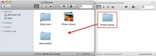 Flytte mappe fra mac til ekstern harddisk