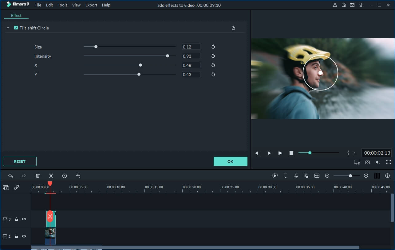 Wondershare Video Editor Screenshot