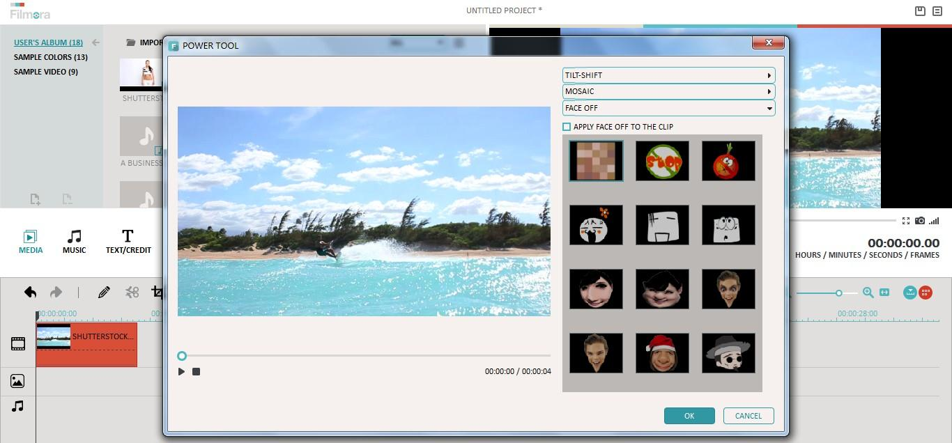 Compress a video with Wondershare Filmora