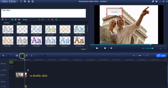 video footage editor