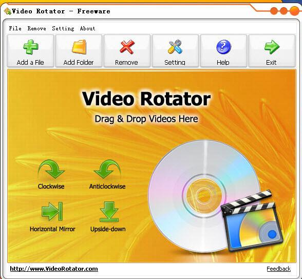 free avi video rotator
