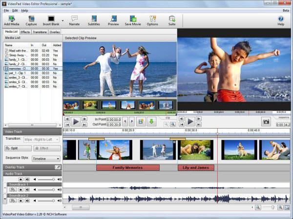 free vob video editor