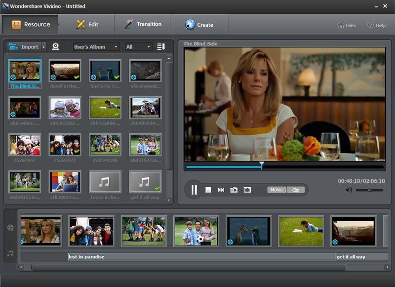 Easy-to-use video editor to edit and personalize  videos for sharing anywhere