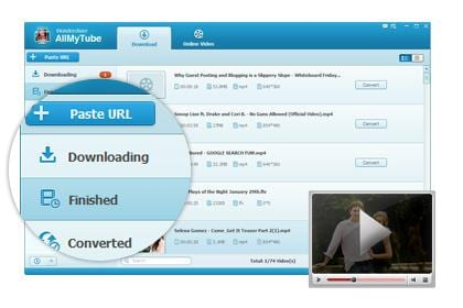 Play and Manage Downloaded & Existing Videos