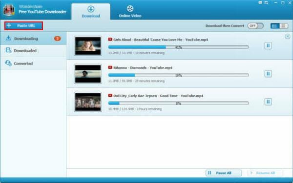 freeware YouTube video downloader