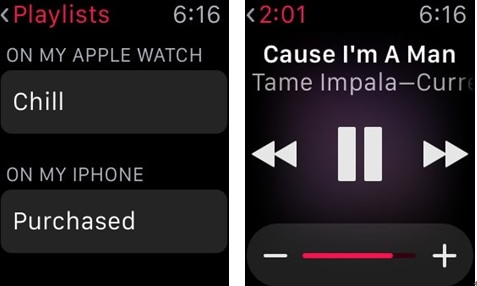 How to enjoy Apple watch music